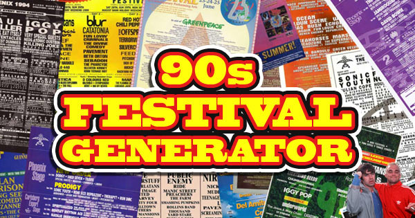 90s Festival Generator