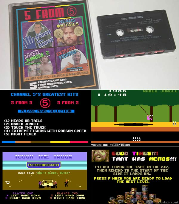 The Channel 5 Computer Games Collection