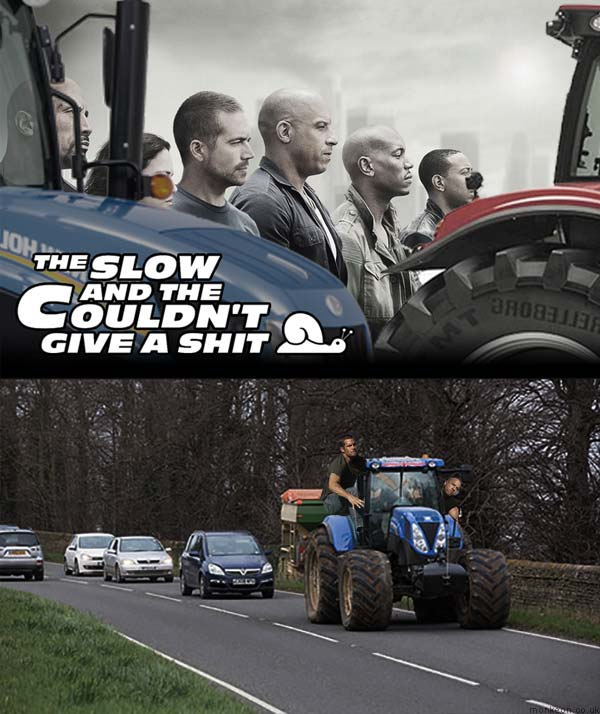 The Fast And The Furious : Farmer Edition