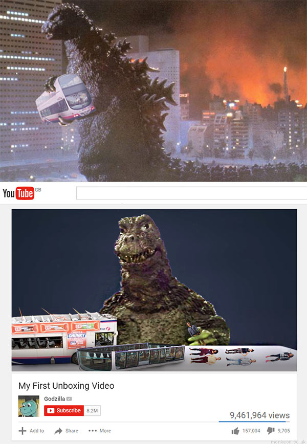 Godzilla vs First Buses