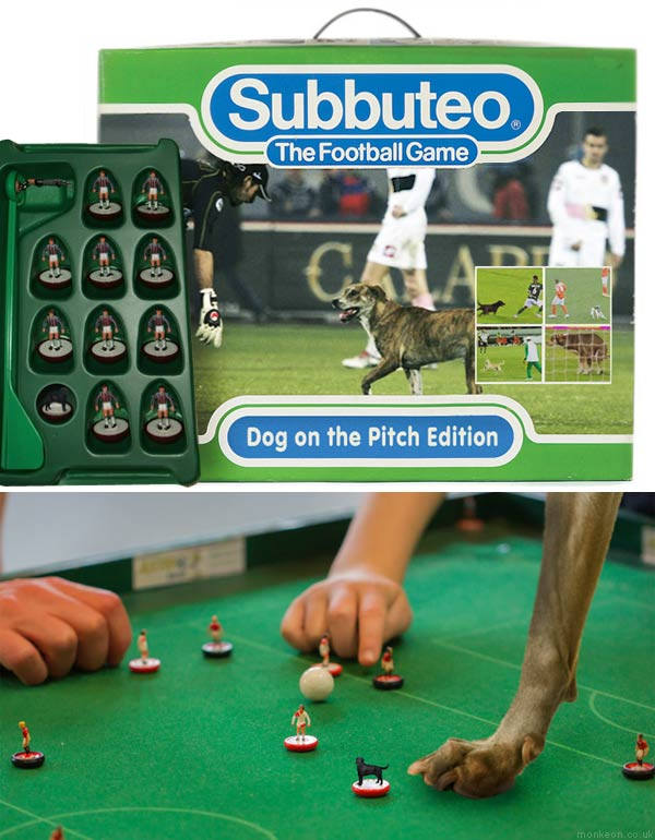 Subbuteo Dog on The Pitch Edition (HMHB inspired)